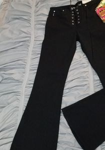 Mudd lace up flared jean size 7
